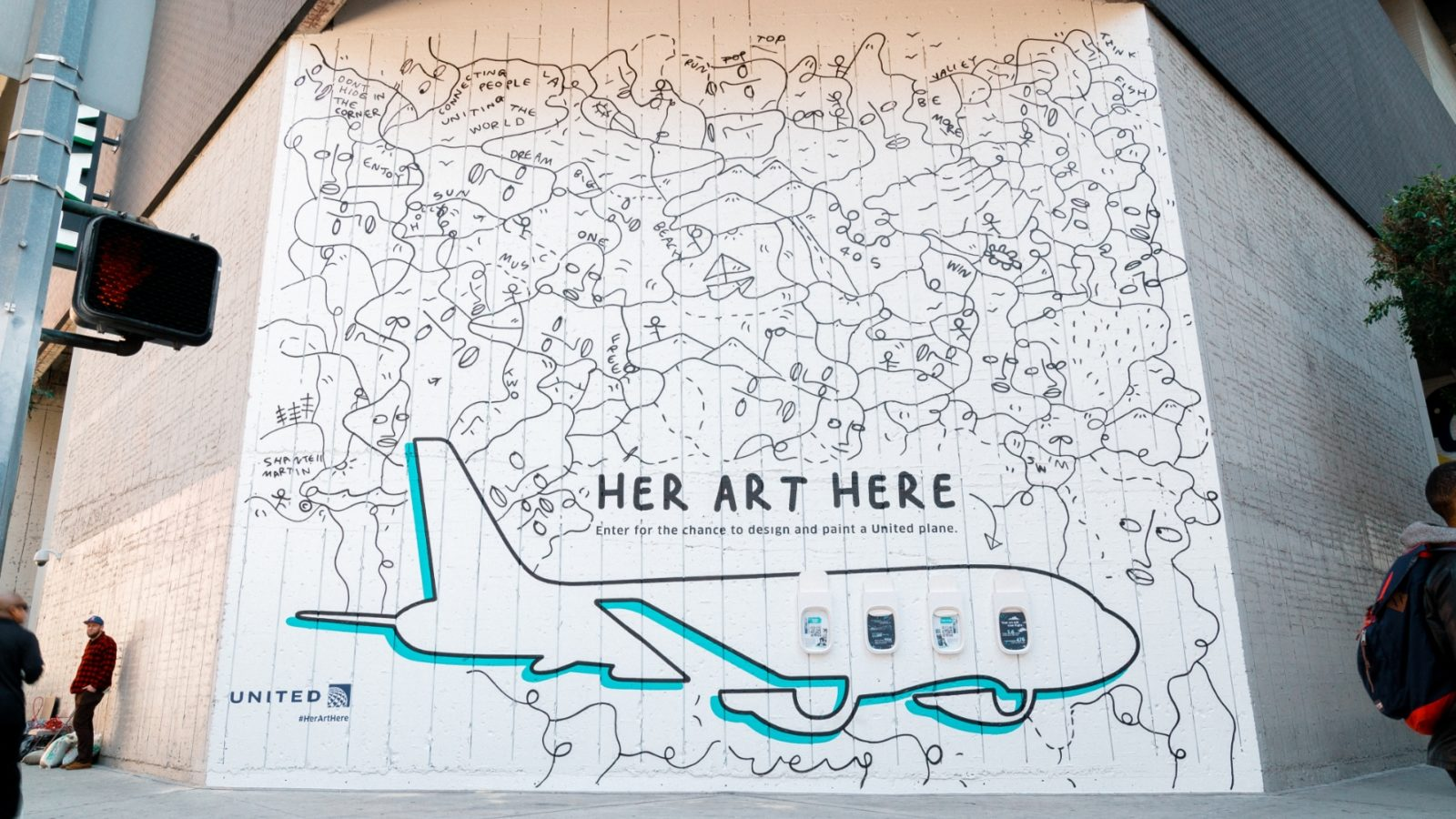 United Gives Women Artists a Huge New Canvas: A Whole Aircraft
